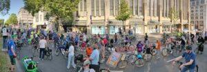 Fahhrrad- und Fußverkehr statt Autos