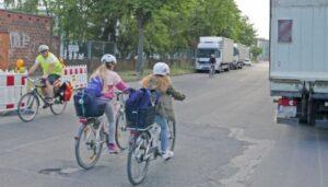 Realität für Radfahrer